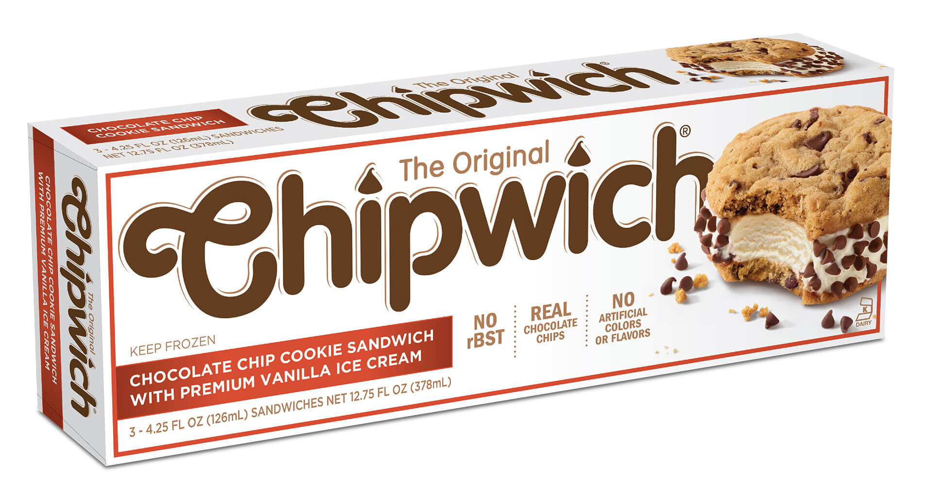 Chipwich Brand Packaging