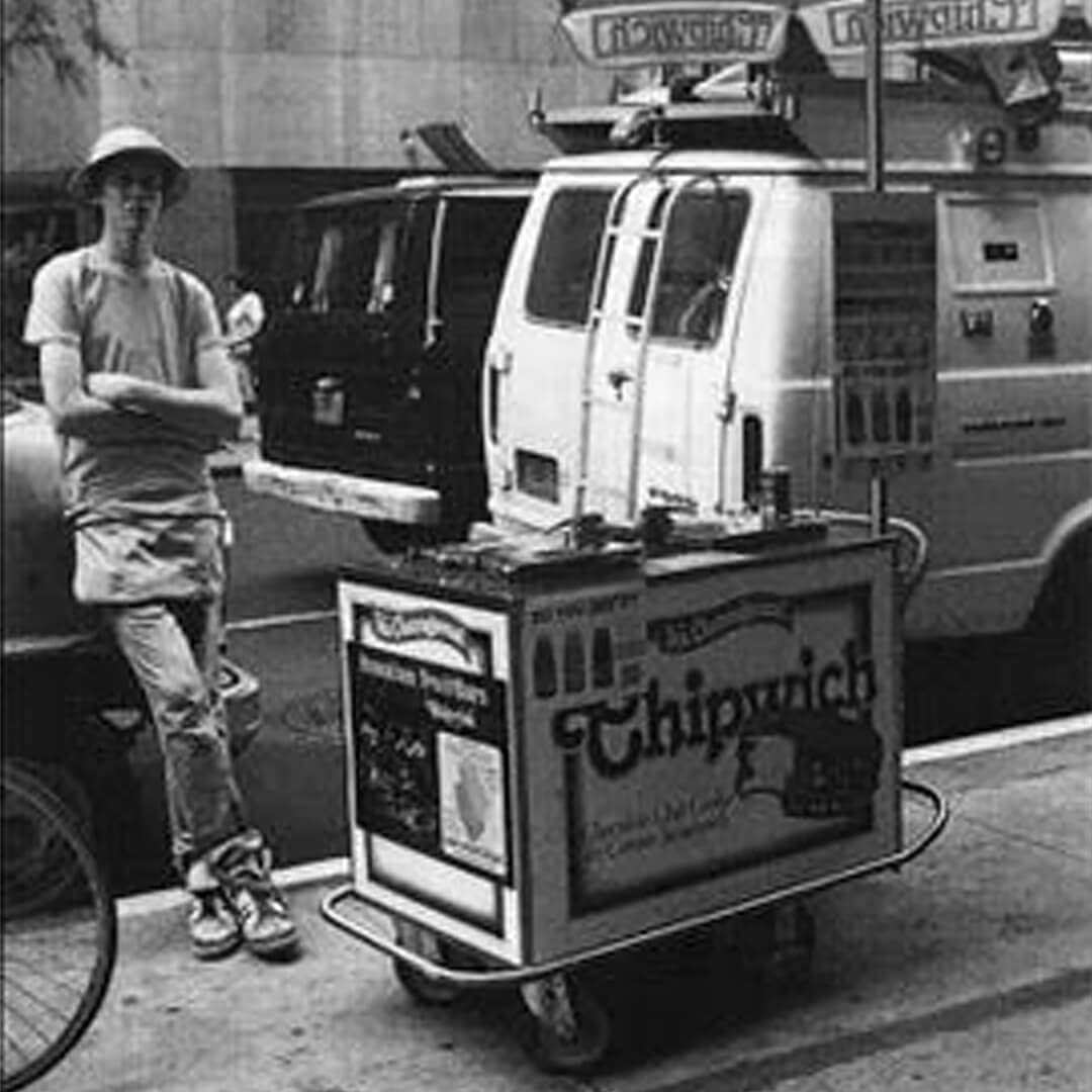 The Original Chipwich Brands Ice Cream Cart