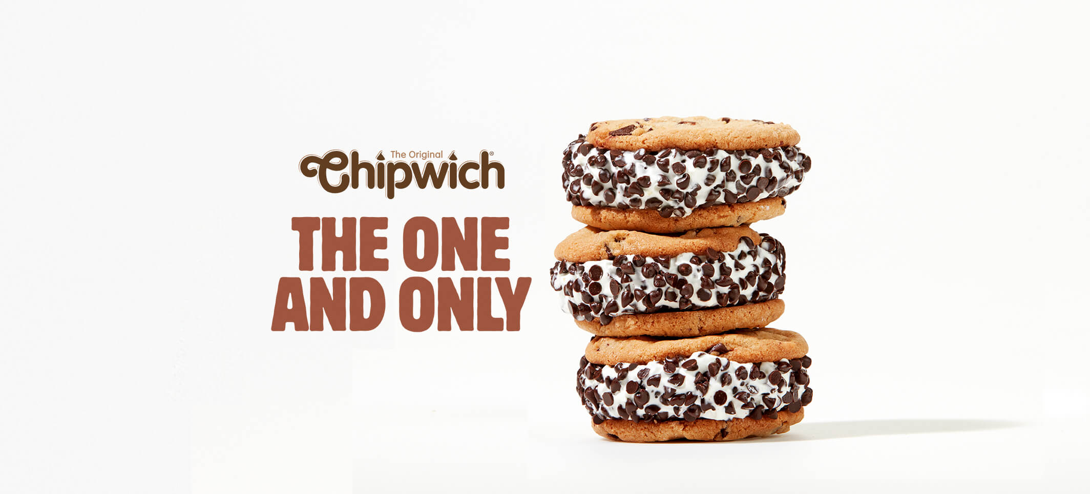 The Original Chipwich Ice Cream Cookie Sandwich